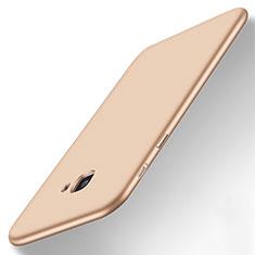 Silikon Schutzhülle Ultra Dünn Tasche Silikon für Samsung Galaxy On7 (2016) G6100 Gold