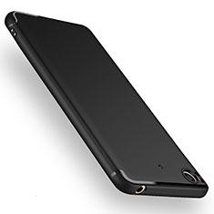 Silikon Schutzhülle Ultra Dünn Tasche Silikon für Xiaomi Mi 5S Schwarz