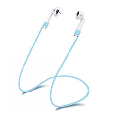 Silikon Sportgurt Anti-Lost Tether Gurt C03 für Apple AirPods Pro Hellblau