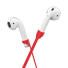 Silikon Sportgurt Anti-Lost Tether Gurt C03 für Apple AirPods Rot