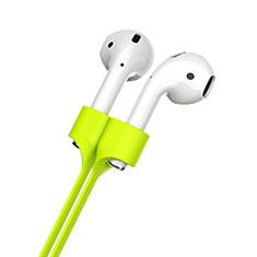 Silikon Sportgurt Anti-Lost Tether Gurt für Apple AirPods Grün