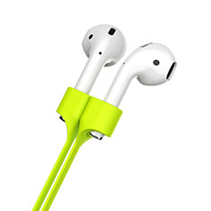 Silikon Sportgurt Anti-Lost Tether Gurt für Apple AirPods Pro Grün