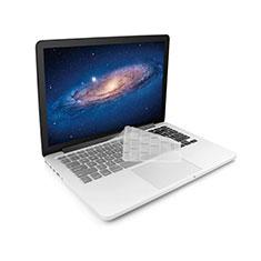 Silikon Tastatur-Abdeckungen Ultra Dünn Durchsichtig Transparent für Apple MacBook 12 zoll Weiß