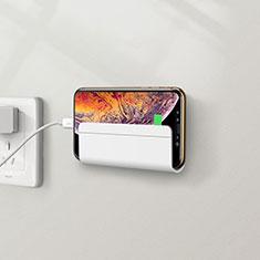 Smartphone Halter Halterung Handy Ständer Universal H04 für Xiaomi Mi 9 Pro Weiß