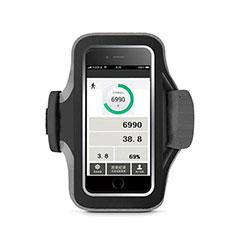 Sport Armband Handytasche Sportarmband Laufen Joggen Universal B06 für Huawei Mate 30 Schwarz