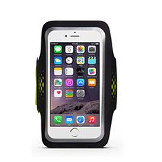 Sport Armband Handytasche Sportarmband Laufen Joggen Universal B20 für Nokia Lumia 1520 Grün