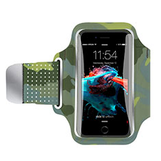 Sport Armband Handytasche Sportarmband Laufen Joggen Universal B35 für Asus Zenfone 5 Bunt
