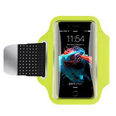 Sport Armband Handytasche Sportarmband Laufen Joggen Universal B35 für Sony Xperia Z5 Grün