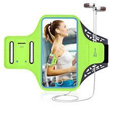 Sport Armband Handytasche Sportarmband Laufen Joggen Universal G02 für Nokia 7.1 Plus Grün