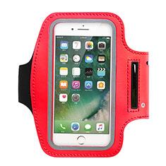 Sport Armband Schutzhülle Laufen Joggen Universal B02 für Huawei Y5 2018 Rot