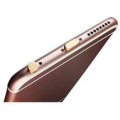 Staubschutz Stöpsel Passend Lightning USB Jack J02 für Apple New iPad Pro 9.7 (2017) Gold