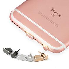 Staubschutz Stöpsel Passend Lightning USB Jack J04 für Apple iPhone 5S Rosegold