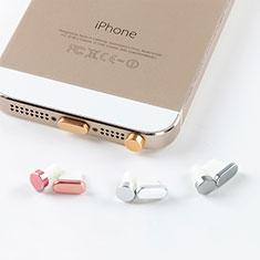 Staubschutz Stöpsel Passend Lightning USB Jack J05 für Apple iPhone 5C Gold