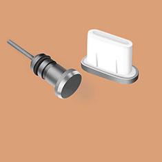 Staubschutz Stöpsel Passend USB Jack Android Type-C Universal für Google Pixel 3a Schwarz