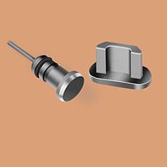 Staubschutz Stöpsel Passend USB Jack Android Universal C02 für Google Pixel 3a Schwarz
