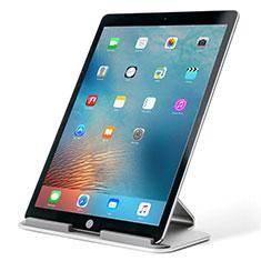 Tablet Halter Halterung Universal Tablet Ständer T25 für Apple iPad 4 Silber