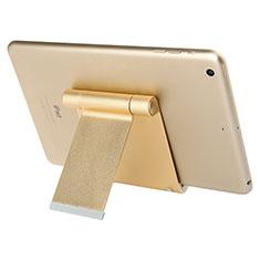 Tablet Halter Halterung Universal Tablet Ständer T27 für Apple iPad 2 Gold