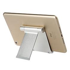 Tablet Halter Halterung Universal Tablet Ständer T27 für Samsung Galaxy Tab S 10.5 LTE 4G SM-T805 T801 Silber