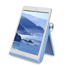 Tablet Halter Halterung Universal Tablet Ständer T28 für Samsung Galaxy Note 10.1 2014 SM-P600 Hellblau