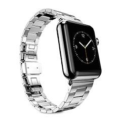Uhrenarmband Edelstahl Band für Apple iWatch 5 44mm Silber