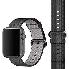 Uhrenarmband Milanaise Band für Apple iWatch 3 38mm Schwarz