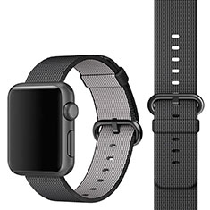 Uhrenarmband Milanaise Band für Apple iWatch 4 40mm Schwarz