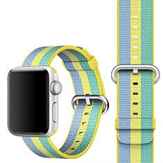 Uhrenarmband Milanaise Band für Apple iWatch 4 44mm Gelb