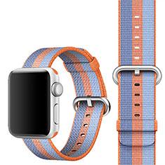 Uhrenarmband Milanaise Band für Apple iWatch 4 44mm Orange