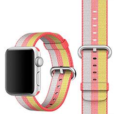 Uhrenarmband Milanaise Band für Apple iWatch 4 44mm Rot