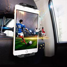 Universal Faltbare Ständer KFZ Halter Halterungung Rücksitz Tablet Halter Halterung B01 für Huawei MediaPad M3 Lite 8.0 CPN-W09 CPN-AL00 Schwarz