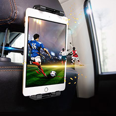 Universal Faltbare Ständer KFZ Halter Halterungung Rücksitz Tablet Halter Halterung B01 für Samsung Galaxy Tab S3 9.7 SM-T825 T820 Schwarz
