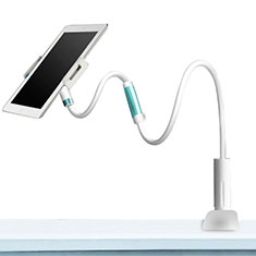 Universal Faltbare Ständer Tablet Halter Halterung Flexibel für Samsung Galaxy Tab S 10.5 SM-T800 Weiß