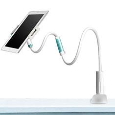 Universal Faltbare Ständer Tablet Halter Halterung Flexibel für Samsung Galaxy Tab S 8.4 SM-T705 LTE 4G Weiß