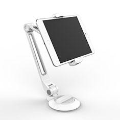 Universal Faltbare Ständer Tablet Halter Halterung Flexibel H04 für Huawei MediaPad M5 8.4 SHT-AL09 SHT-W09 Weiß