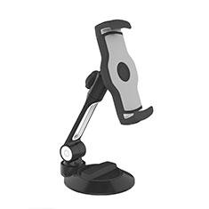 Universal Faltbare Ständer Tablet Halter Halterung Flexibel H05 für Apple iPad Mini 3 Schwarz
