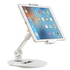 Universal Faltbare Ständer Tablet Halter Halterung Flexibel H06 für Microsoft Surface Pro 4 Weiß