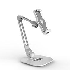 Universal Faltbare Ständer Tablet Halter Halterung Flexibel H10 für Huawei MediaPad M5 8.4 SHT-AL09 SHT-W09 Weiß