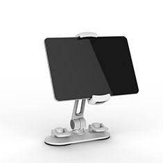 Universal Faltbare Ständer Tablet Halter Halterung Flexibel H11 für Samsung Galaxy Tab S2 9.7 SM-T810 SM-T815 Weiß