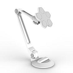 Universal Faltbare Ständer Tablet Halter Halterung Flexibel H14 für Apple iPad Mini 3 Weiß