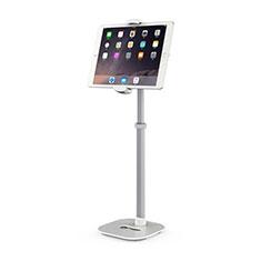 Universal Faltbare Ständer Tablet Halter Halterung Flexibel K09 für Samsung Galaxy Tab S6 Lite 4G 10.4 SM-P615 Weiß