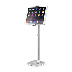 Universal Faltbare Ständer Tablet Halter Halterung Flexibel K09 für Samsung Galaxy Tab S7 4G 11 SM-T875 Weiß