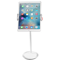 Universal Faltbare Ständer Tablet Halter Halterung Flexibel K27 für Apple New iPad Air 10.9 (2020) Weiß
