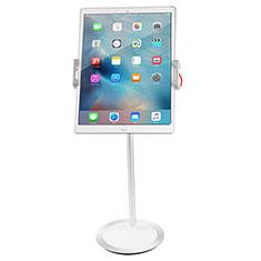 Universal Faltbare Ständer Tablet Halter Halterung Flexibel K27 für Huawei MateBook HZ-W09 Weiß