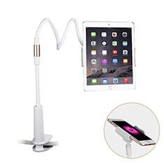 Universal Faltbare Ständer Tablet Halter Halterung Flexibel T29 für Apple iPad 3 Weiß
