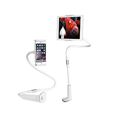 Universal Faltbare Ständer Tablet Halter Halterung Flexibel T30 für Samsung Galaxy Tab S 10.5 SM-T800 Weiß