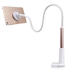 Universal Faltbare Ständer Tablet Halter Halterung Flexibel T32 für Samsung Galaxy Tab 4 10.1 T530 T531 T535 Gold