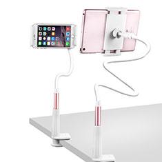 Universal Faltbare Ständer Tablet Halter Halterung Flexibel T33 für Apple iPad 3 Rosegold