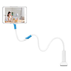 Universal Faltbare Ständer Tablet Halter Halterung Flexibel T35 für Apple iPad 3 Weiß