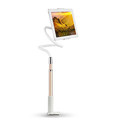 Universal Faltbare Ständer Tablet Halter Halterung Flexibel T36 für Apple iPad 3 Rosegold