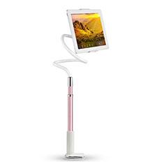 Universal Faltbare Ständer Tablet Halter Halterung Flexibel T36 für Xiaomi Mi Pad Rosa